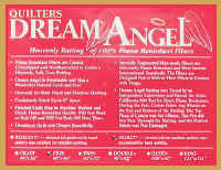 Quilters Dream Angel
